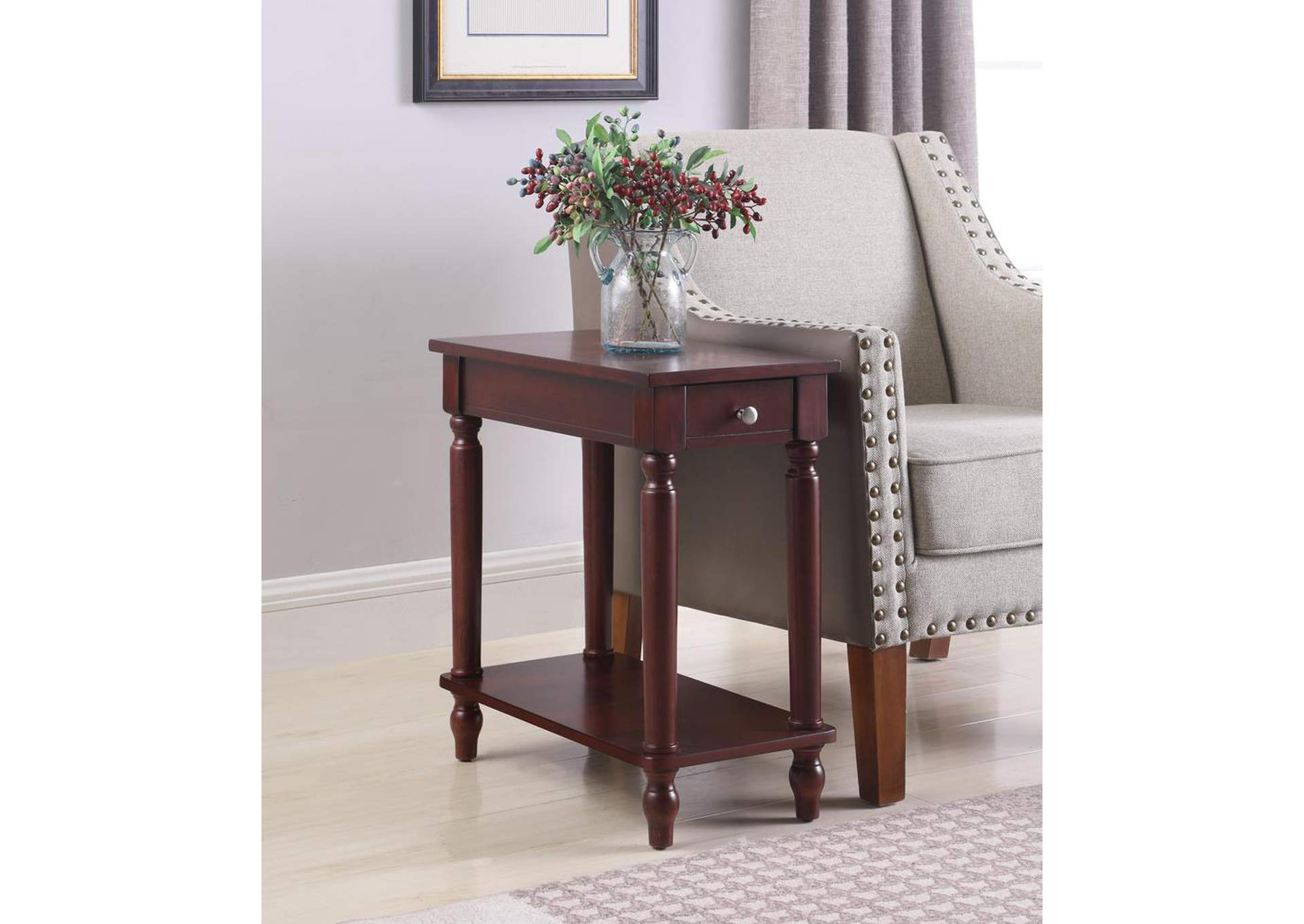 Cappuccino Accent Table,Coaster Furniture