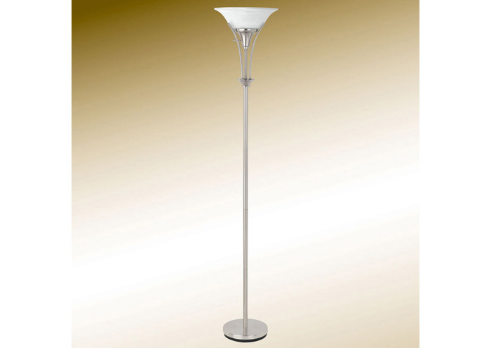 Brushed Steel Floor Lamp,Coaster Furniture