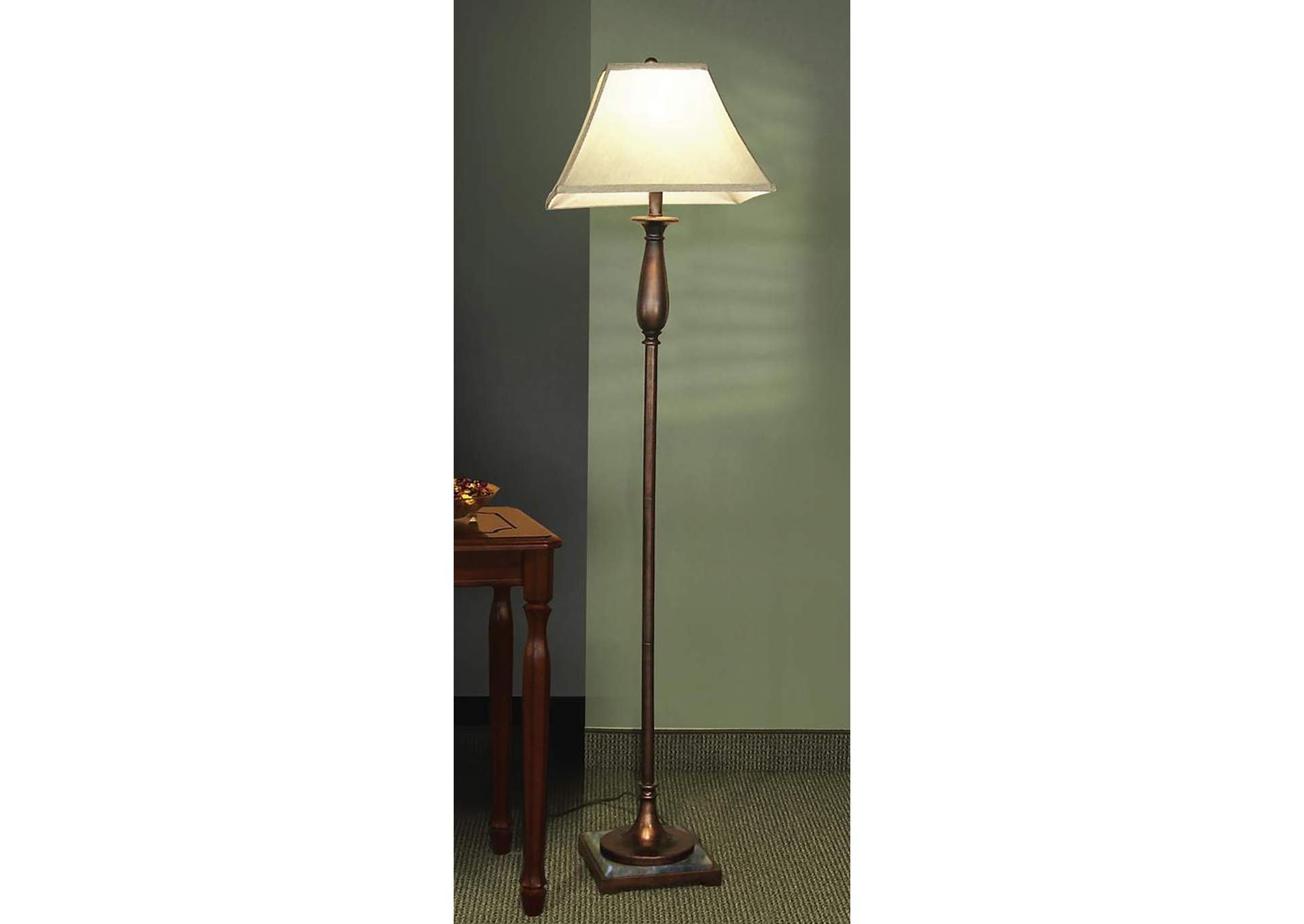 Bronze Floor Lamp,Coaster Furniture