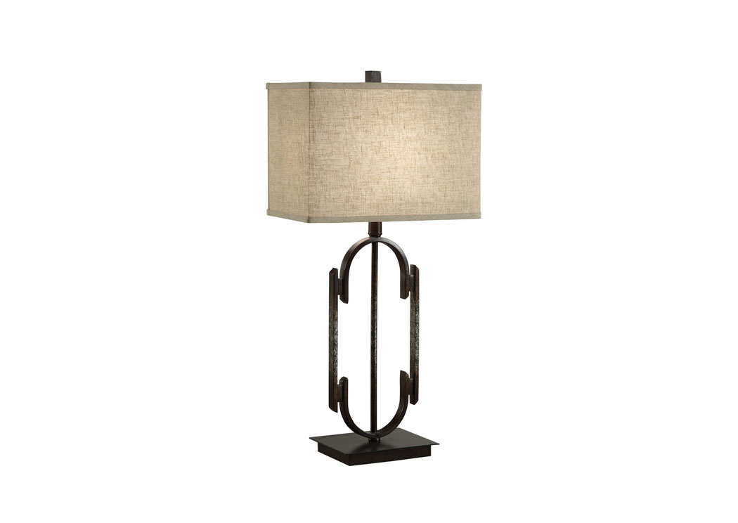 Dark Bronze/Beige Table  Lamp,Coaster Furniture