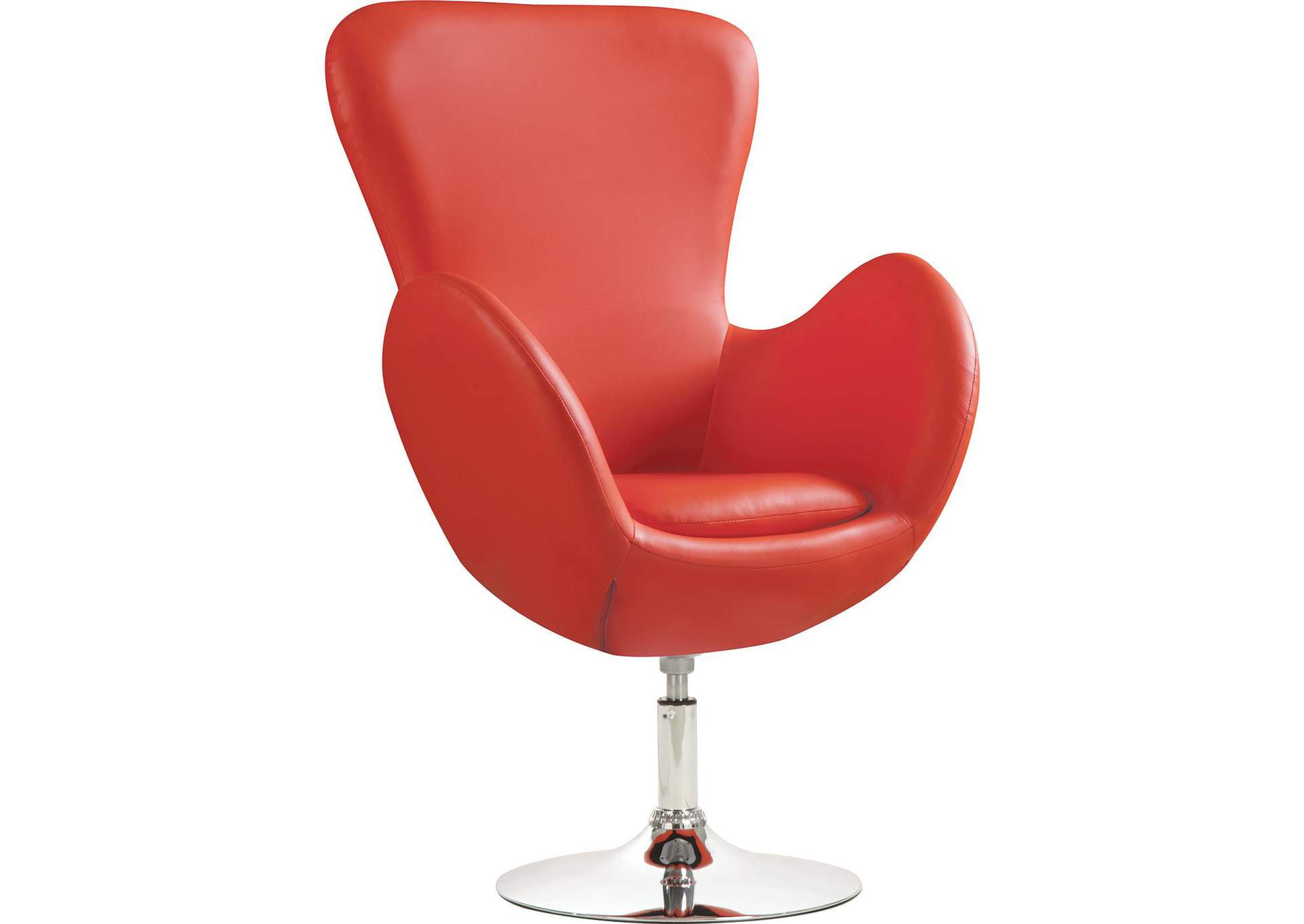 Fantastic Direct Deal Furniture Red Swivel Accent Chair Pdpeps Interior Chair Design Pdpepsorg