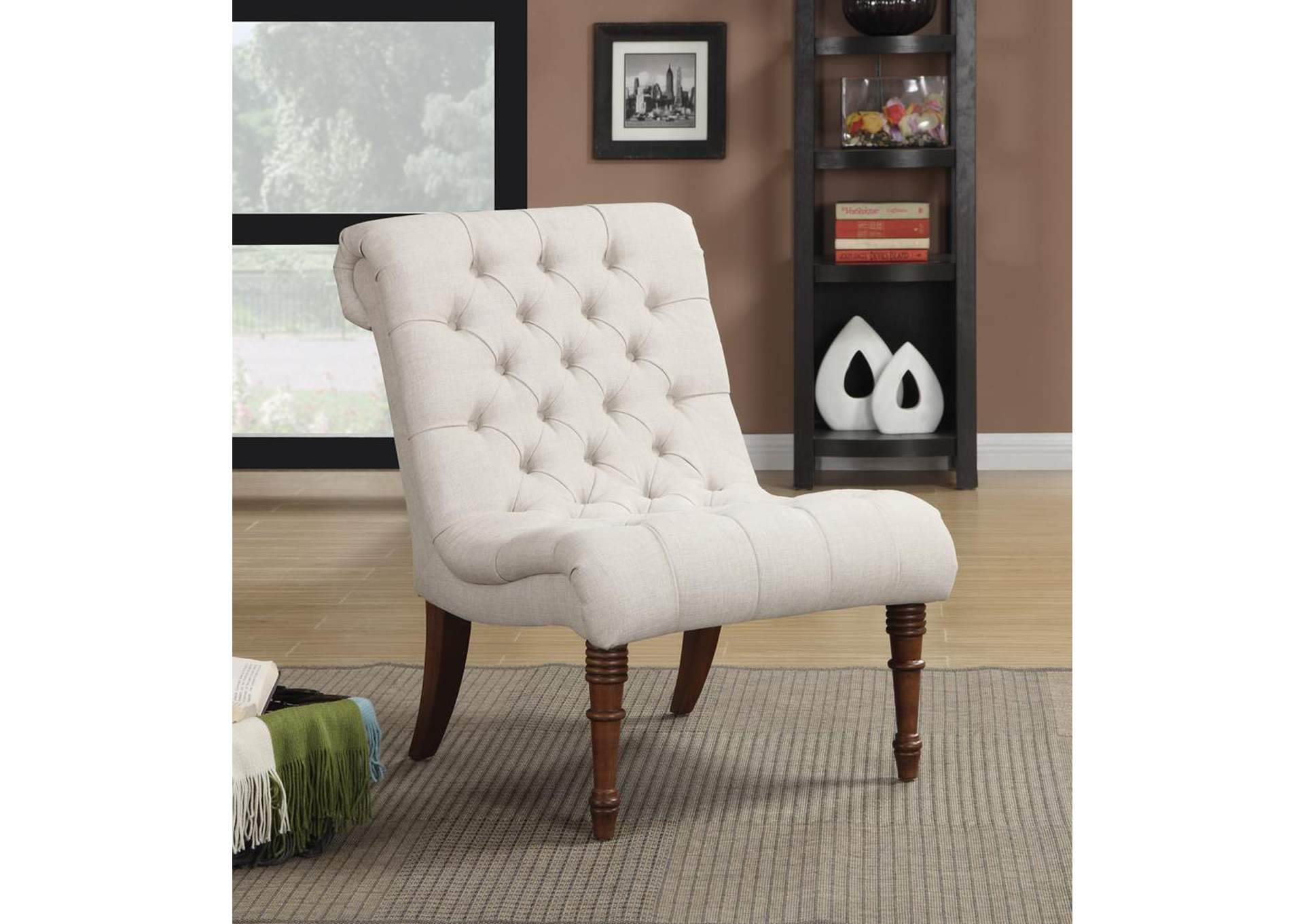 Light Brown Accent Chair,Coaster Furniture