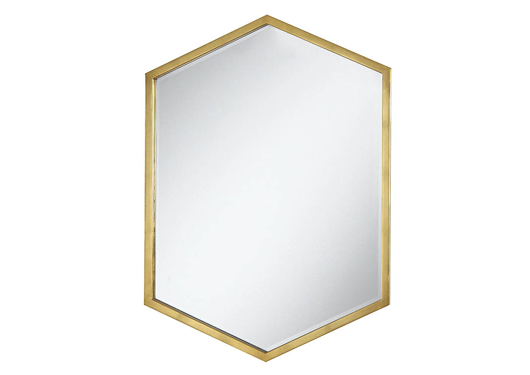 Gold Mirror,Coaster Furniture