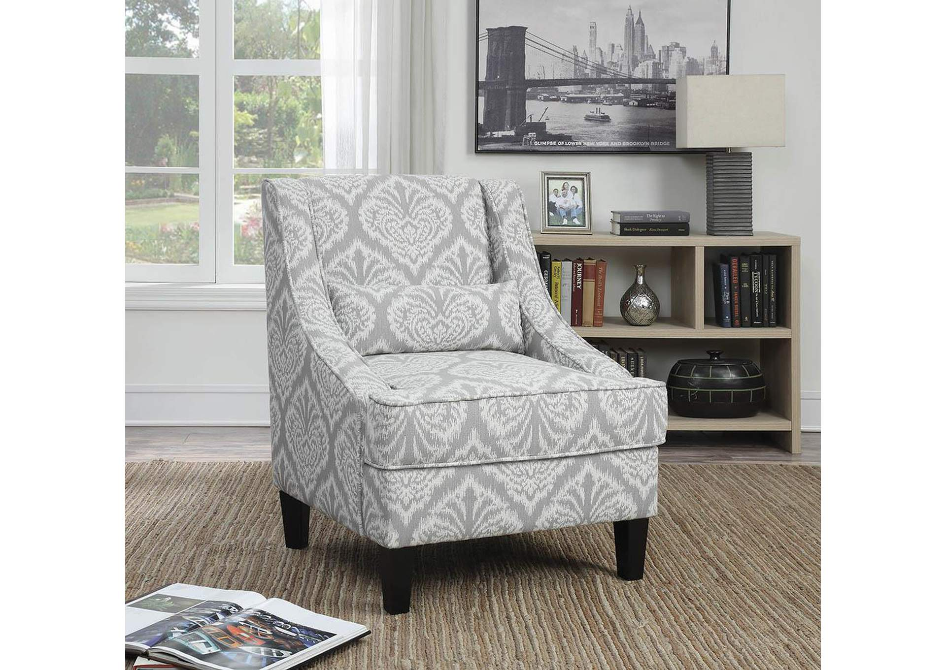 living room accent chair squan furniture accent chair 12080