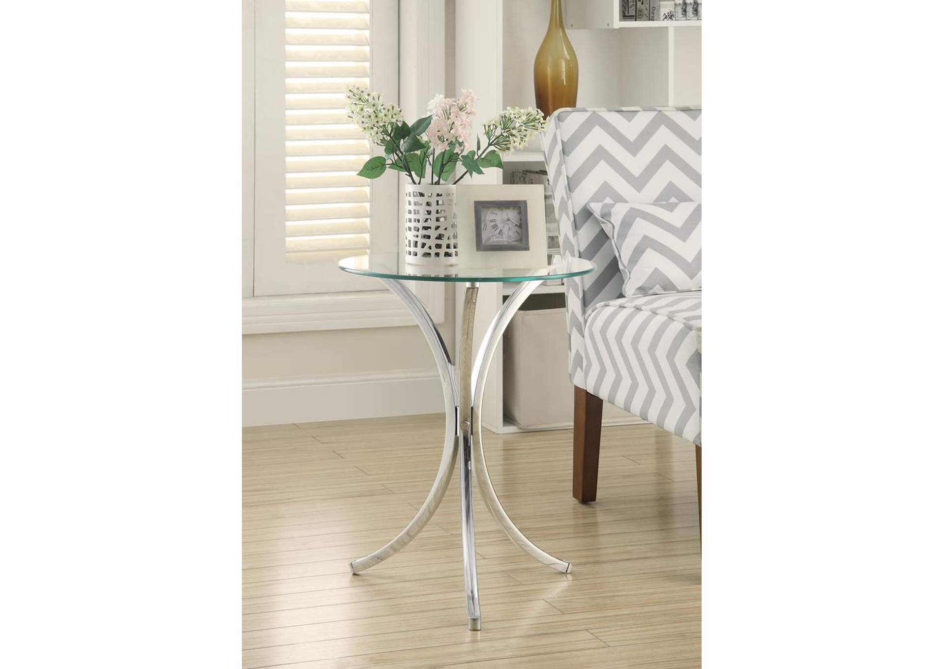 Chrome Accent Table,Coaster Furniture