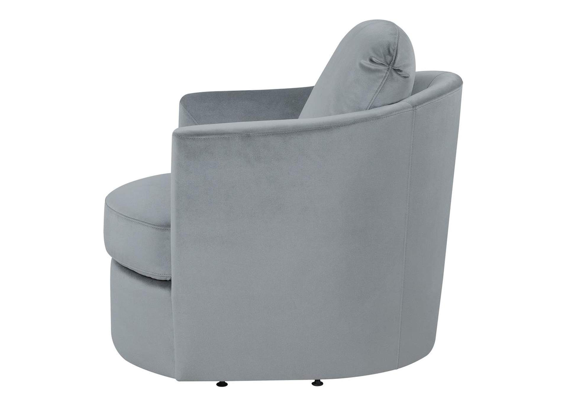Grey Swivel Accent Chair,Coaster Furniture