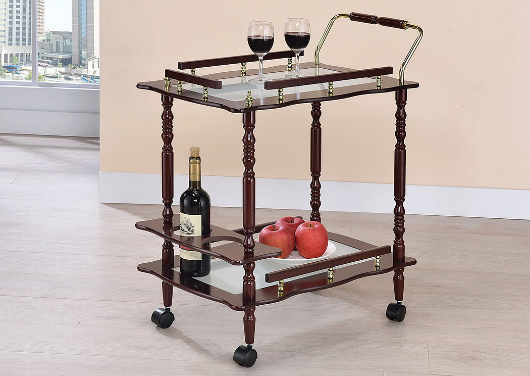 Brothers Fine Furniture Serving Cart