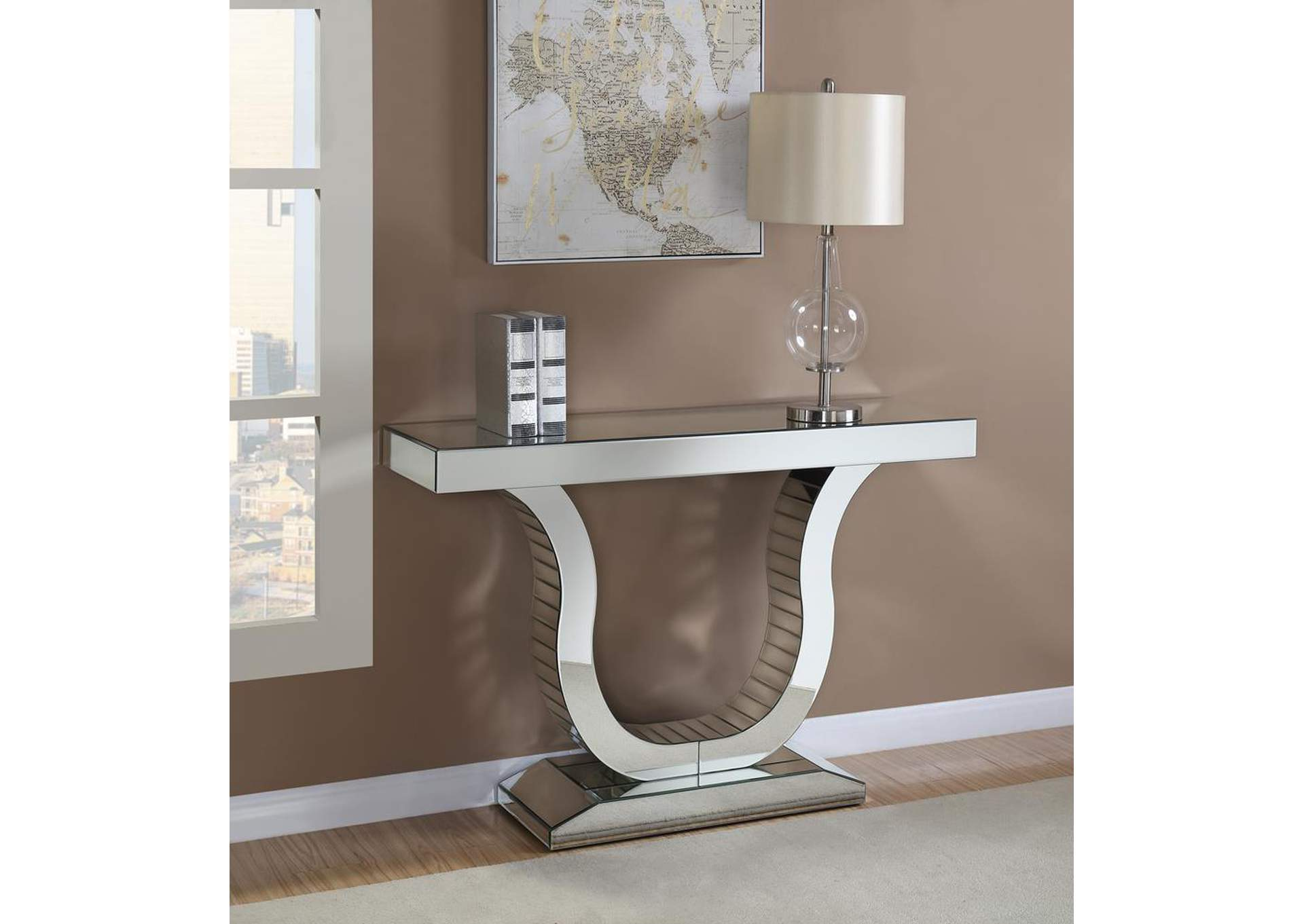 Silver Console Table,Coaster Furniture