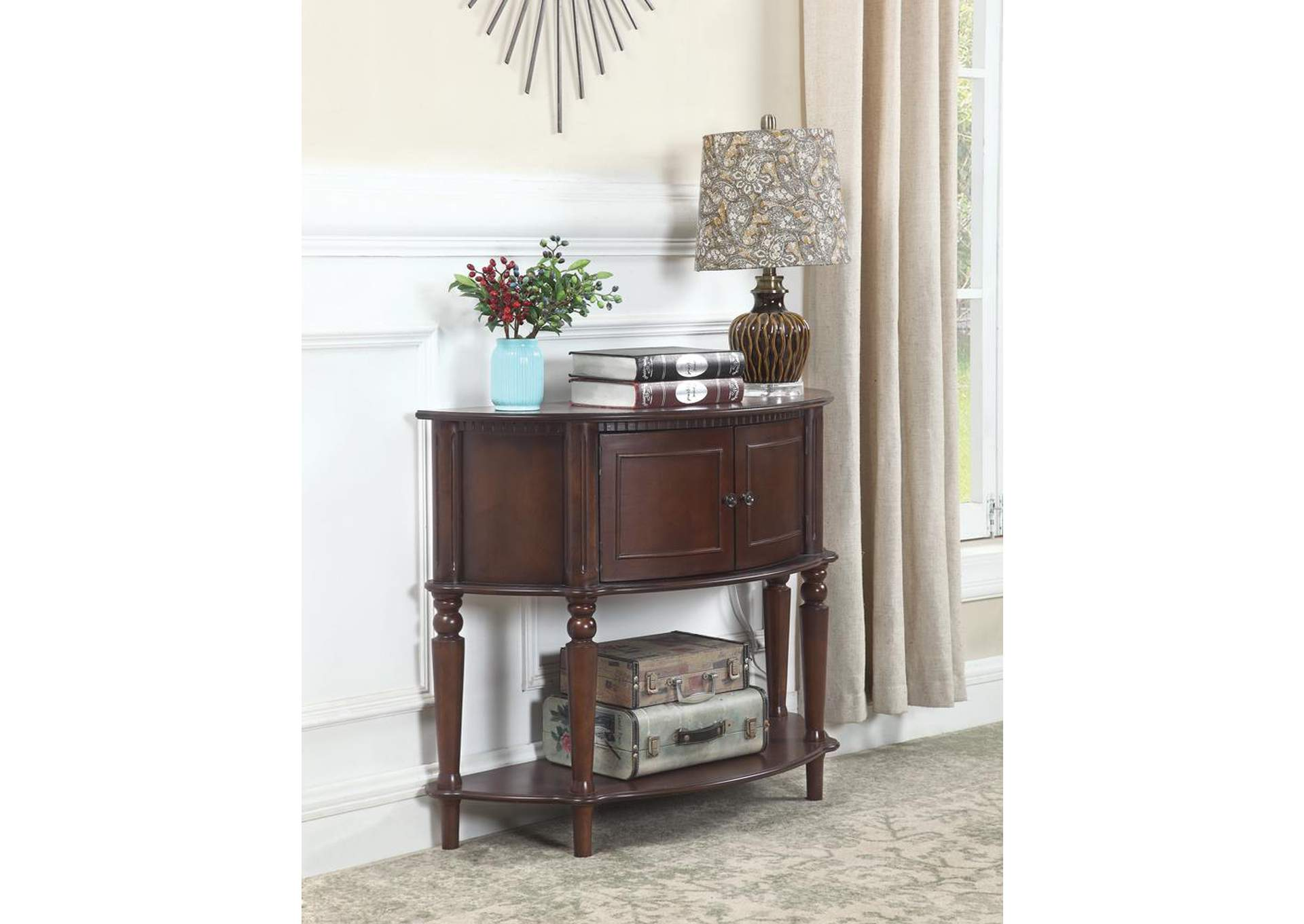 Brown Console Table,Coaster Furniture