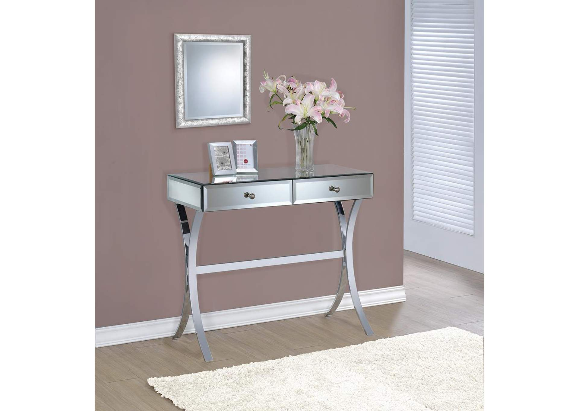 Mirrored Console Table,Coaster Furniture