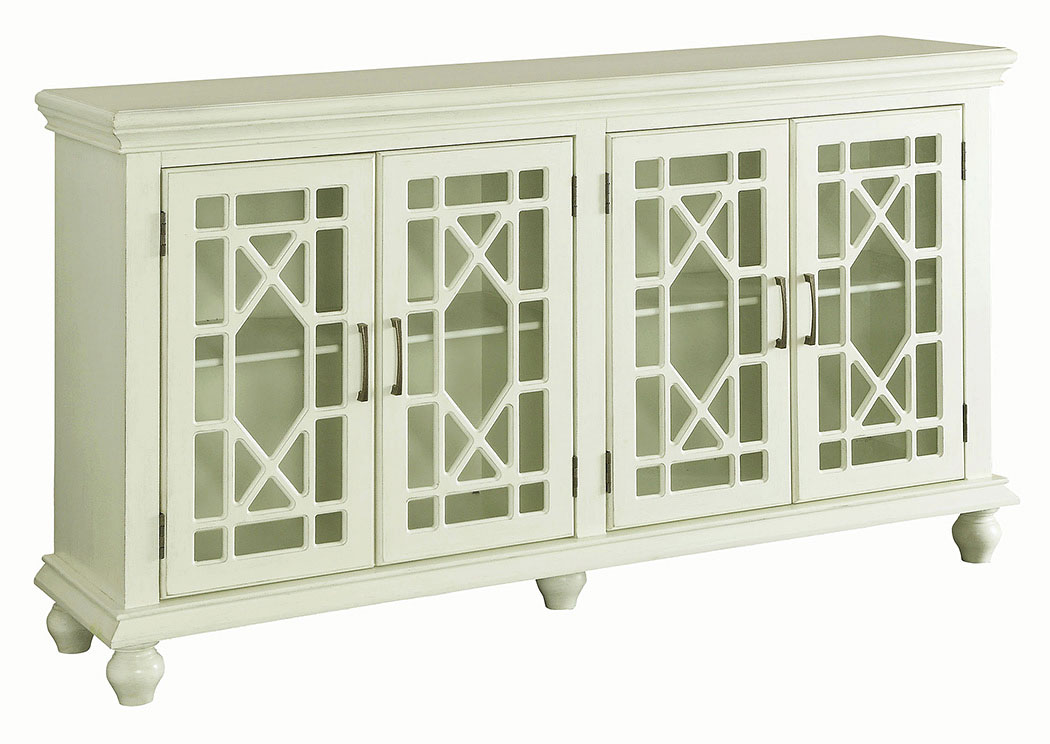 Antique White Accent Cabinet,Coaster Furniture