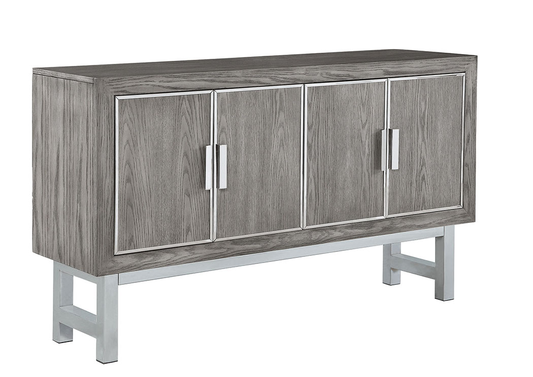 Gray Accent Cabinet,Coaster Furniture
