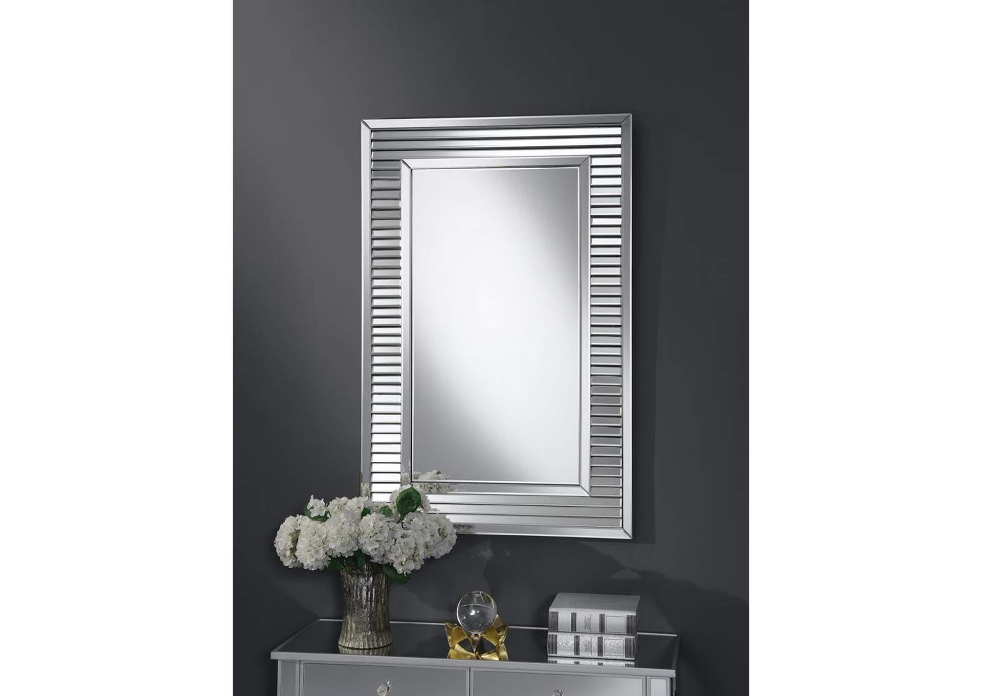 Silver Wall Mirror,Coaster Furniture