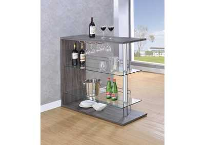 Dark Grey Bar Table
