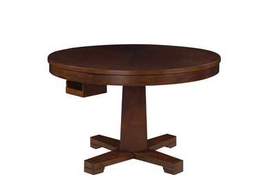 Image for Eclipse Marietta Casual Tobacco Finished Game Table