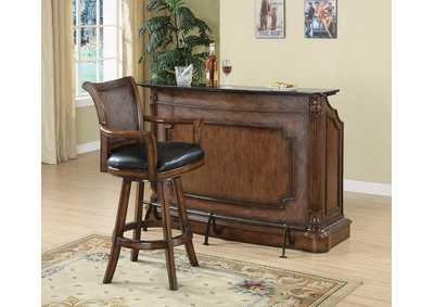 Ornate Brown Bar Unit
