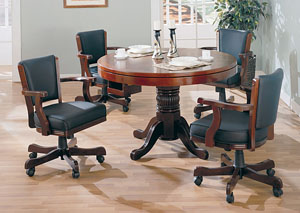 Game Table w/ 4 Game Chairs