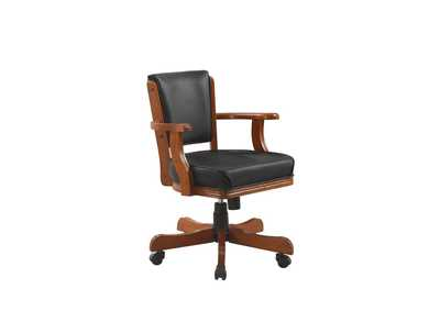 Image for Mine Shaft Mitchell Traditional Merlot Game Chair