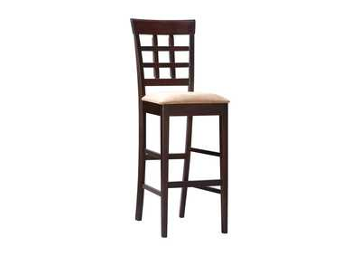 Image for Cocoa Brown Gabriel Cappuccino Exposed Wood Counter Stool [Set of 2]