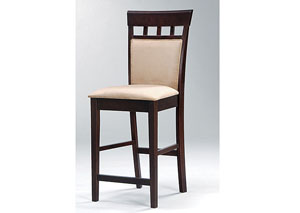 Mocha & Cappuccino Barstool (Set of 2)