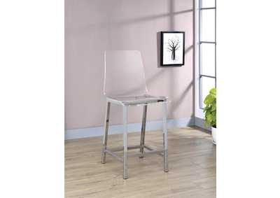 Clear Bar Stool (Set of 2)