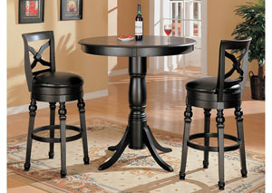 Bar Table w/2 Bar Stools