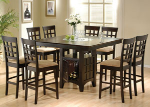 Dining Table w/8 Side Chairs