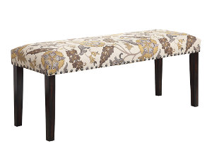 Patterned Bench