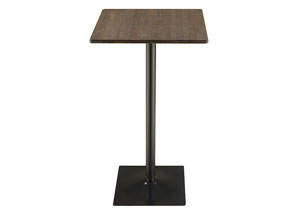 Dark Elm Bar Table