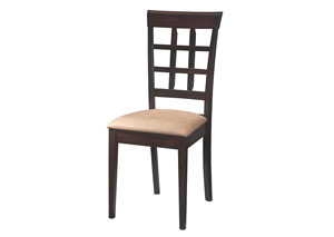 Cappuccino Wheat Back Side Chair (Set of 2)