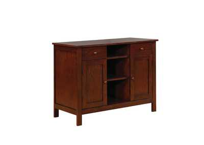 Lavon Warm Brown Server