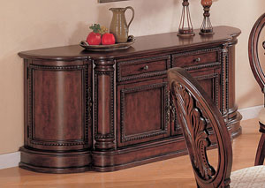Tabitha Dark Cherry China Cabinet