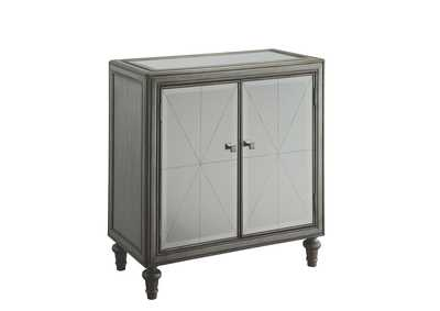 Image for Silver Hollywood Glam Silver Accent Cabinet