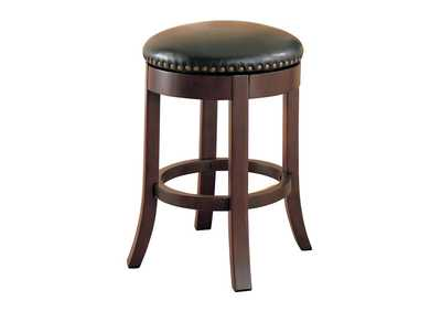Walnut Counter Bar Stool (Set of 2)