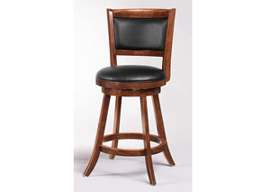 24in H Swivel Bar Stool (Set of 2)