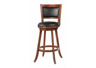 Chestnut Swivel Bar Stool (Set of 2)