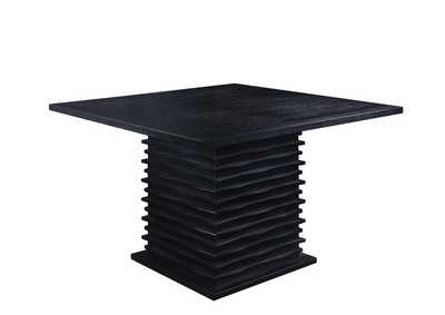 Image for Black Stanton Contemporary Black Counter-Height Table