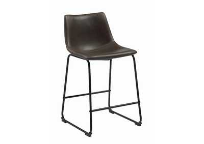 Brown Counter Stool (Set of 2)