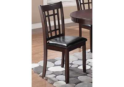 Lavon Espresso Dining Chair (Set of 2)