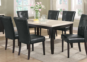 Anisa Cappuccino Dining Table