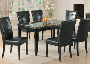 Anisa Black Dining Table
