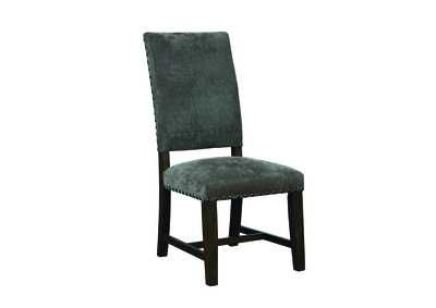 Smoke Black Parson Chair