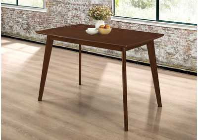 Kersey Walnut Dining Table