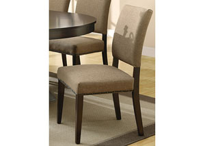 Coffee Dining Chair (Set of 2)