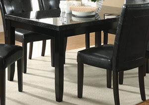 Newbridge Deep Cappuccino Dining Table