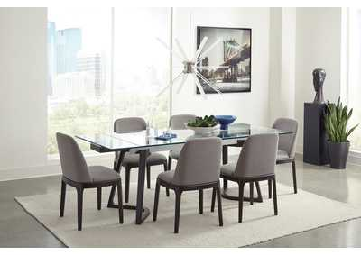 Image for Annapolis Cultured Pearl 5 Piece Dining Set