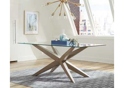 Artesia Grey Oak Dining Table