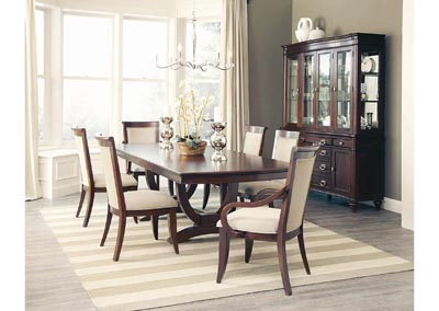 Walnut 18 Rectangular Extension Dining Table
