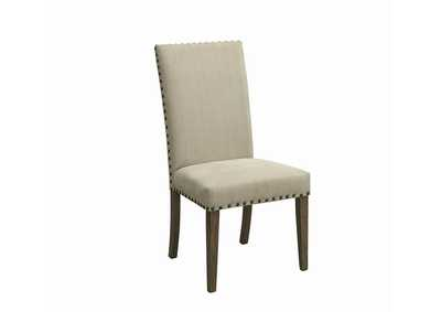 Beige Dining Chair (Set of 2)