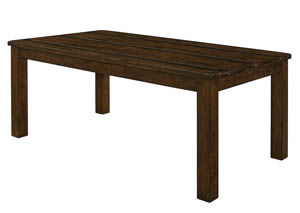 Rustic Pecan Dining Table